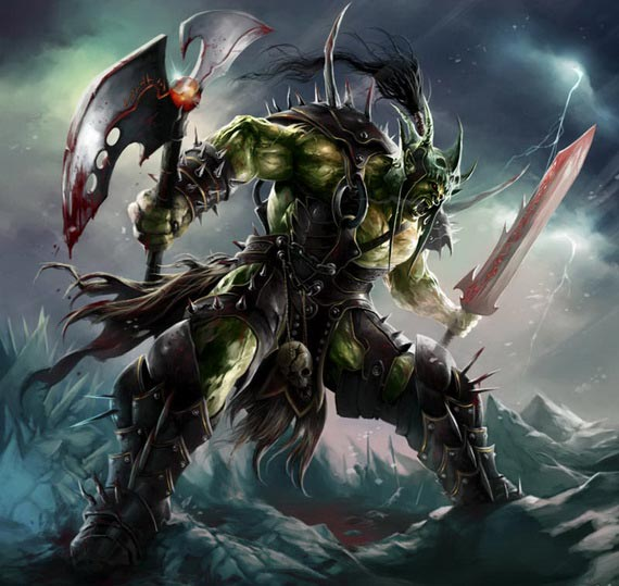 Орк воин