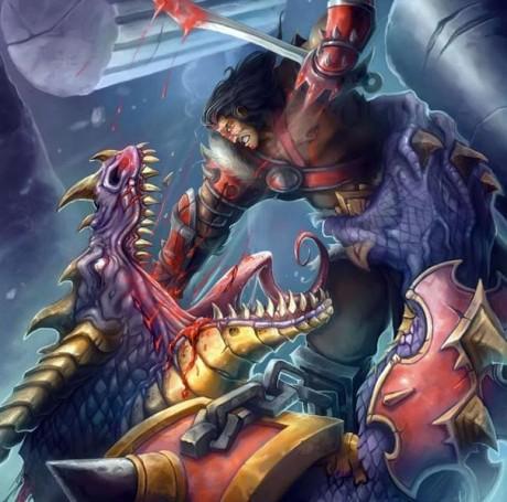 Вариан Ринн против драконида