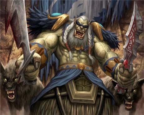Дрек'Тар - вождь клана Северного Волка