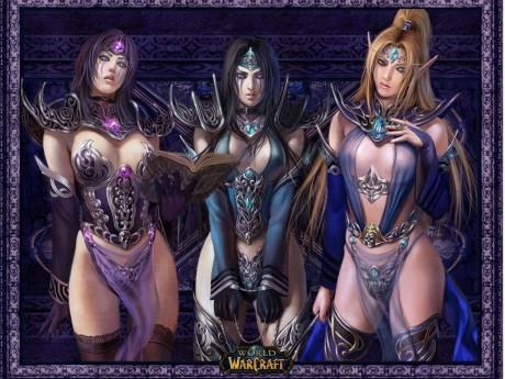 Секси трио из Некроситета