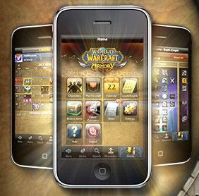 Мобильный аукцион WoW в iPod Touch