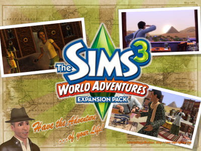 Sims 3: World Adventures
