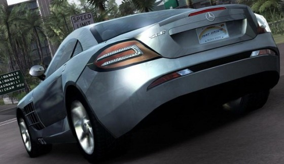 Test Drive Unlimited 2 - Mercedes SLR