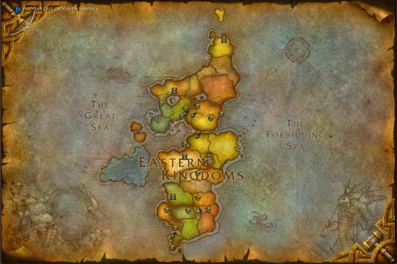 Места раскопок на карте мира