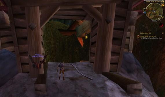 Заваленный вход в шахту