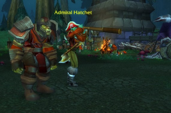 Адмирал Хэтчет с помощником