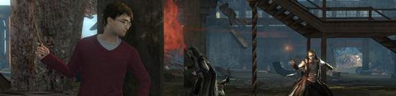 Игра Гарри Поттер и Дары Смерти: Часть 1