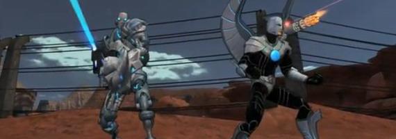 Робот-спутник в Champions Online