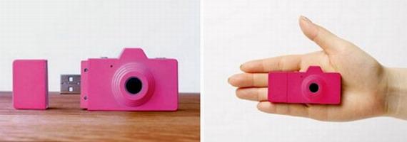 Флешка-фотоаппарат Clap