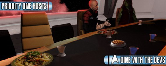 Обед с разработчиками Star Trek Online