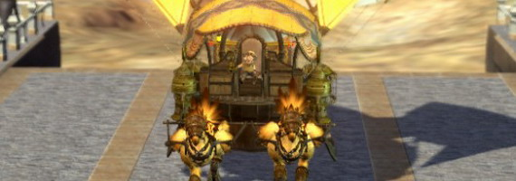 Караван в Final Fantasy XIV
