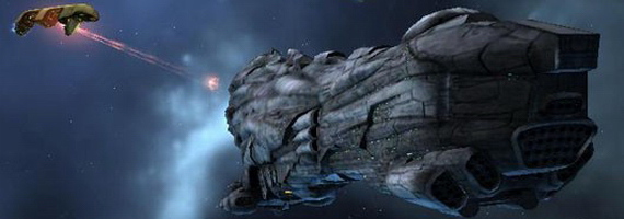 Крупные корабли в EvE Online