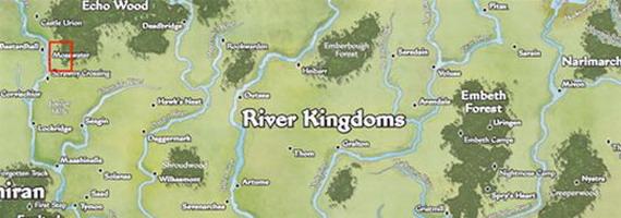 Карта Pathfinder Online