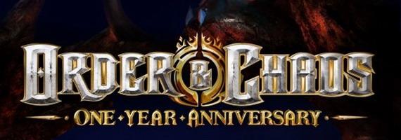 Первая годовщина Order & Chaos: Online
