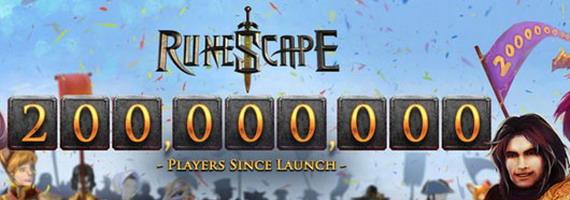 200 миллионов игроков в RuneScape