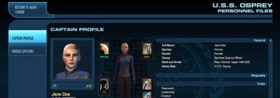 Мобильное приложение для Star Trek Online